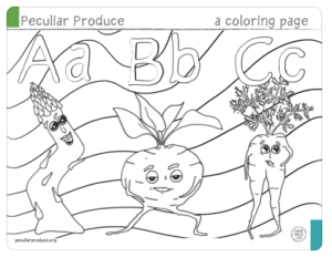 page from coloring book